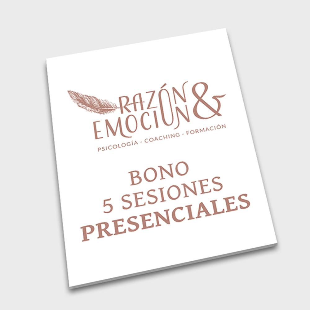 Bono 5 sesiones presenciales